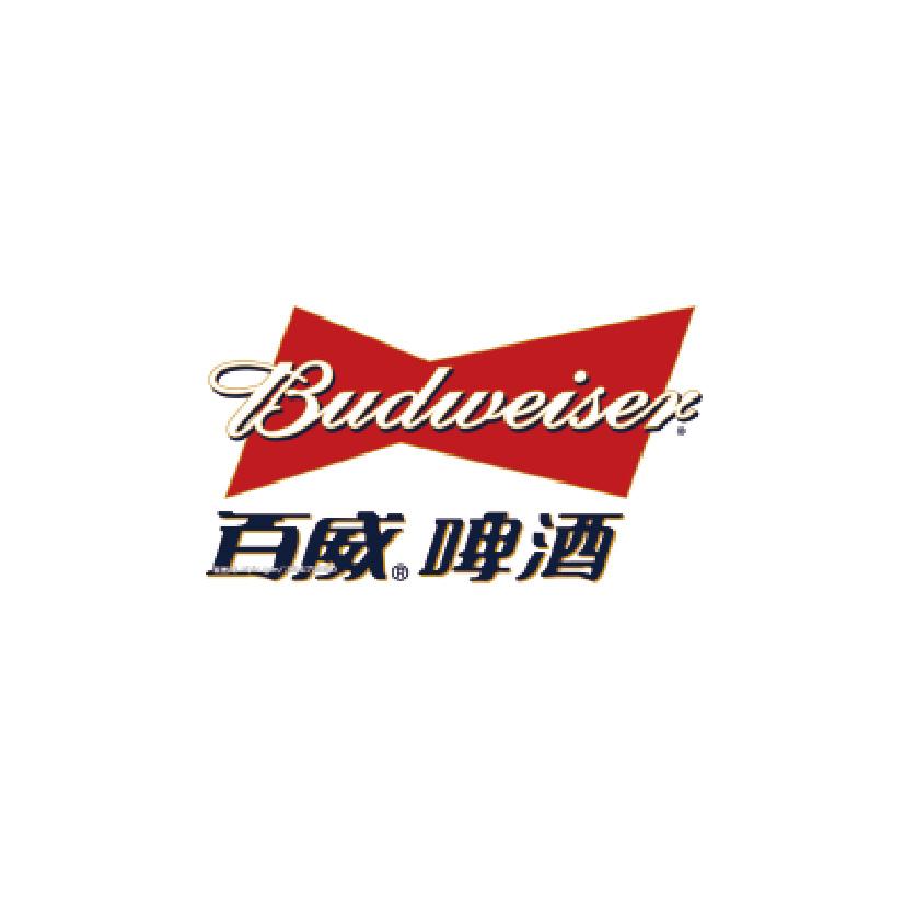 百威青岛logo
